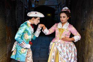 trionfo di Napoli al carnevale di Venezia