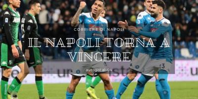 Calcio, Serie A: Il Napoli torna a vincere