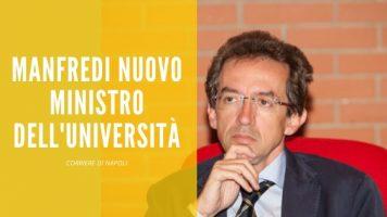 News: Gaetano Manfredi nuovo ministro dell'Università!
