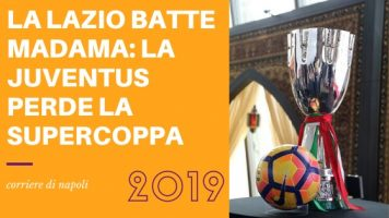 Sport, Calcio: La Lazio conquista la Supercoppa