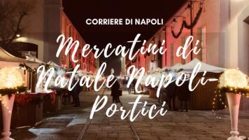 #vivinapoli, Mercatini di Natale Napoli-Portici
