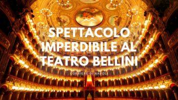 Musica, Napoli: spettacolo imperdibile al Teatro Bellini