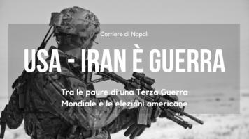 News: USA-Iran è guerra! Tra le paure di una Terza Guerra Mondiale e le elezioni americane