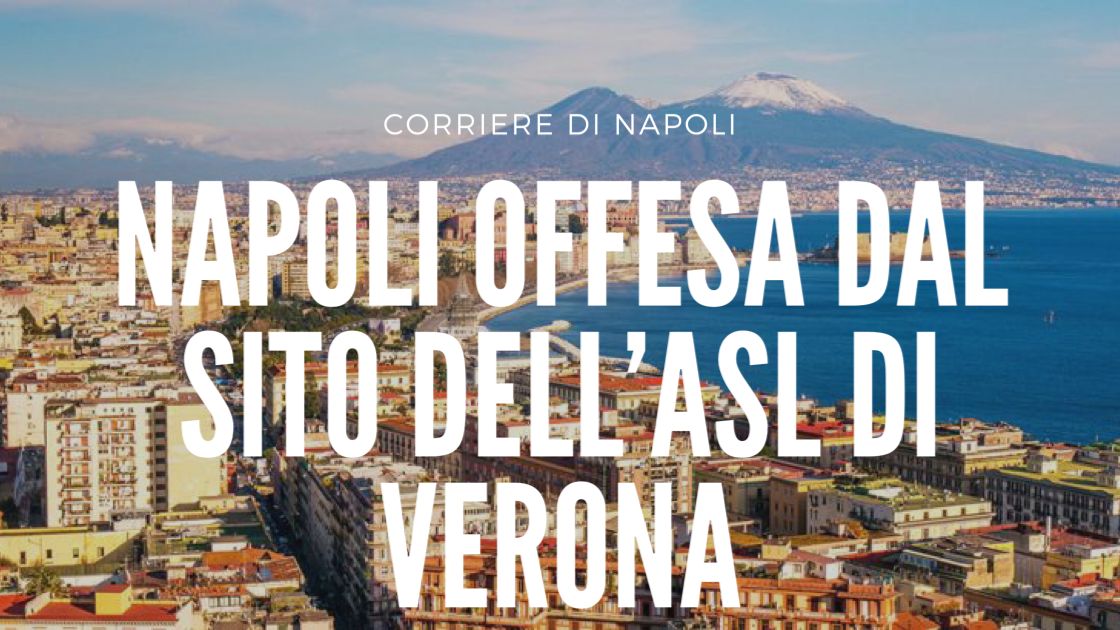 News: Napoli offesa dell'Asl di Verona