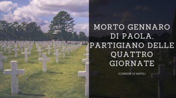 News, Napoli: è morto Gennaro Di Paola