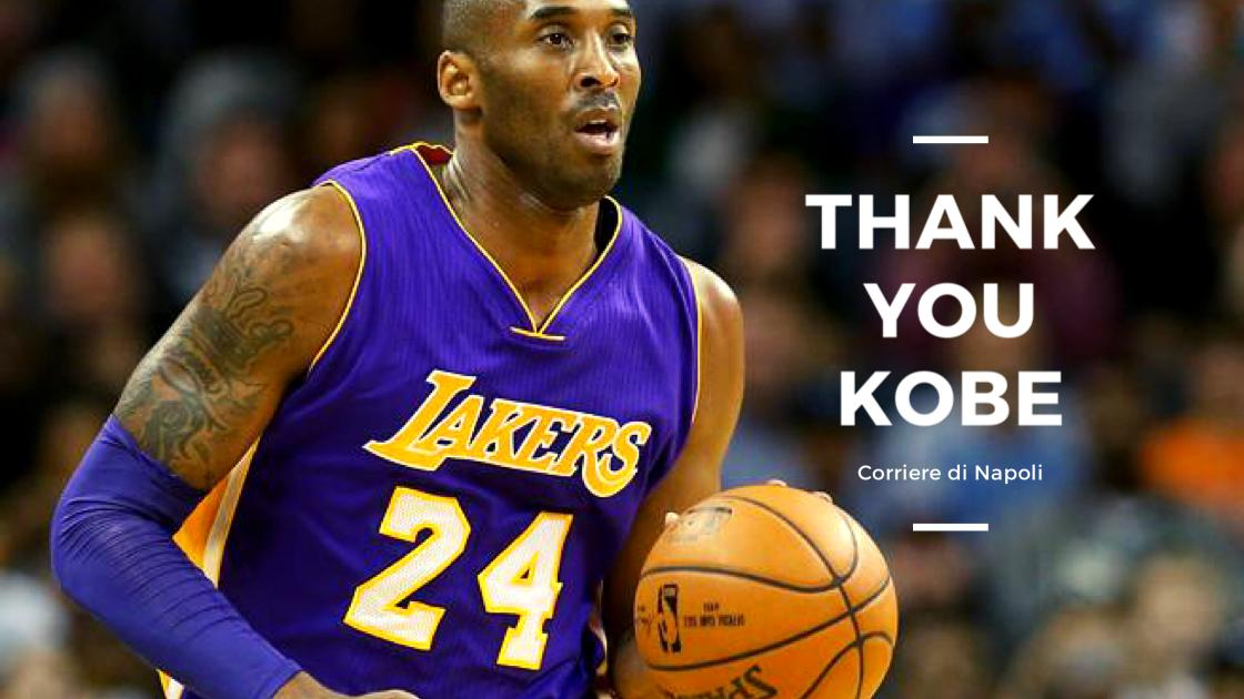 Sport, basket: Thank you Kobe
