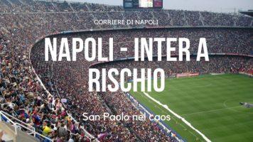 a rischio Napoli-Inter per mancanza di dipendenti!