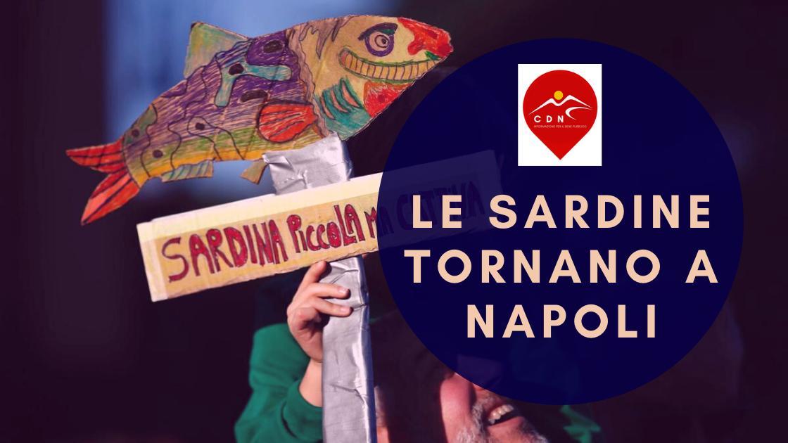 News, le Sardine tornano a Napoli il 25 gennaio!