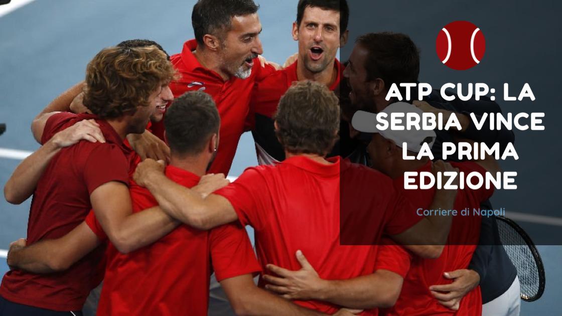 Sport, Tennis: la Serbia conquista la prima edizione dell'ATP Cup!