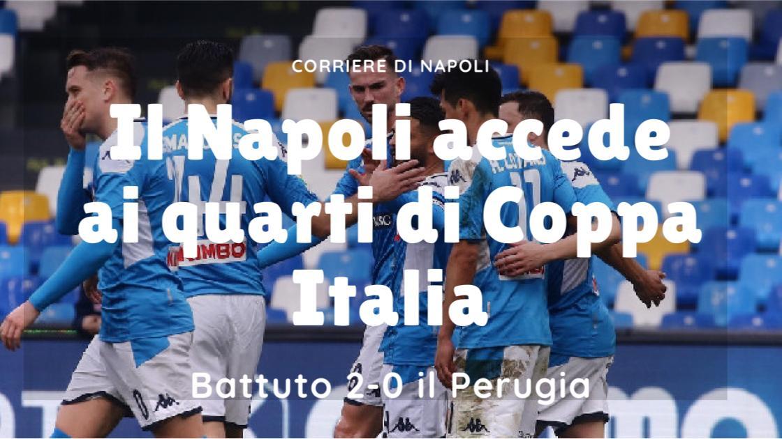 Sport, Calcio: il Napoli accede ai quarti di Coppa Italia! Perugia sconfitto di rigore