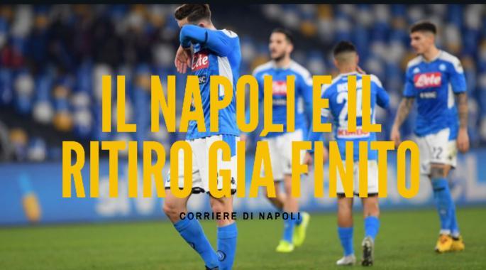 Calcio, Serie A: il caos del Napoli e il ritiro già finito!