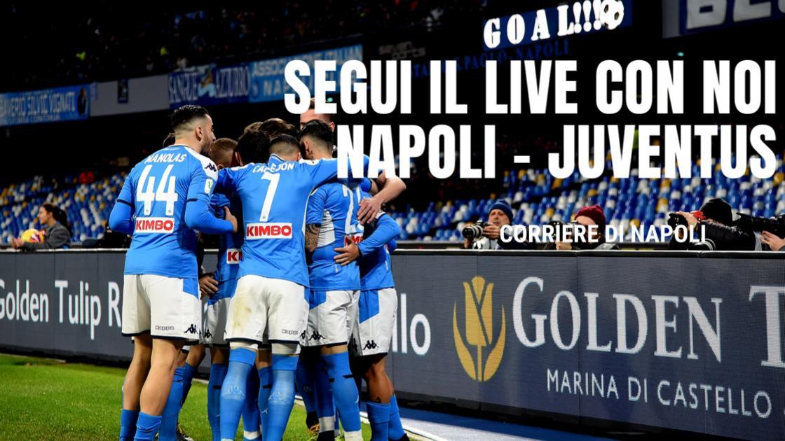 LIVE Serie A 2019/20, Napoli-Juventus 2-1