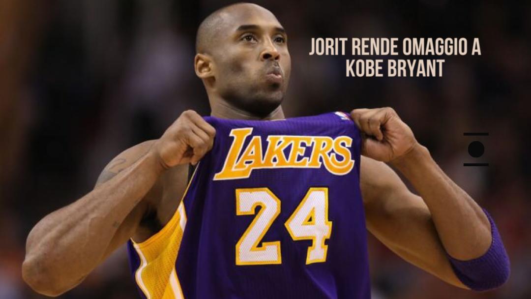 Arte&Cultura: Jorit rende omaggio a Kobe Bryant!