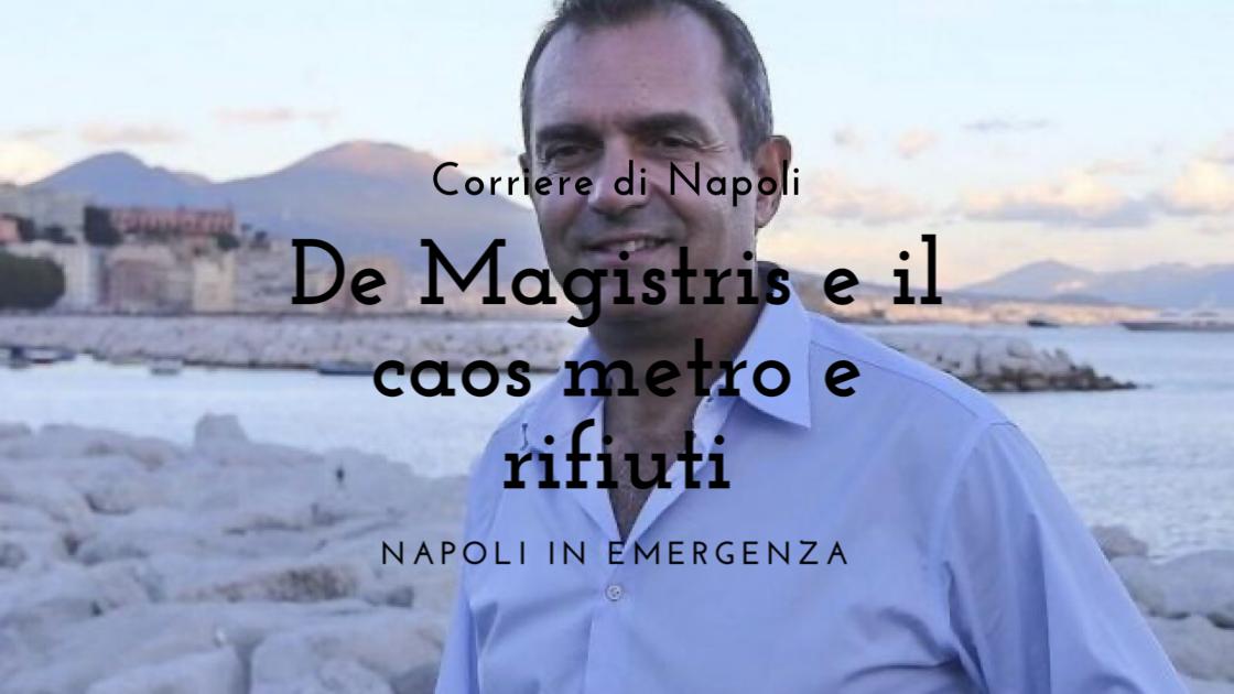 News: De Magistris e il caos in città
