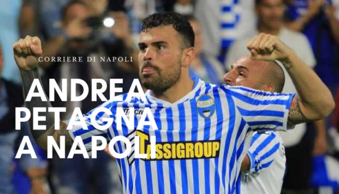 Sport, Calcio: Andrea Petagna sbarca al San Paolo