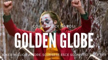 Golden Globe, Joker miglior attore. Scorsese esce sconfitto: bene 1917