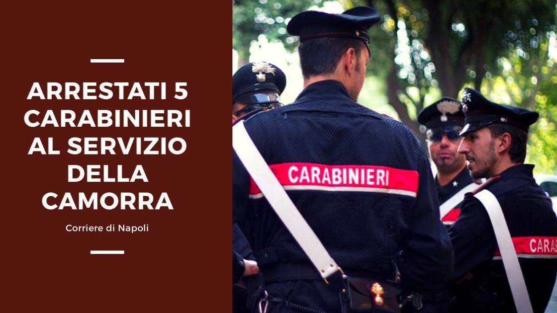 News, Napoli: arrestati cinque carabinieri