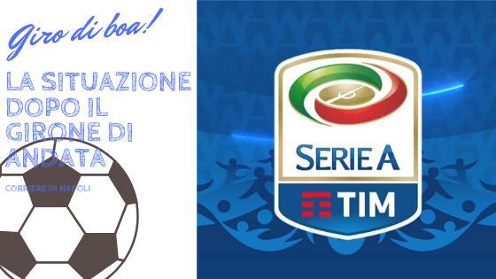 Sport, Serie A: La situazione dopo il girone di andata