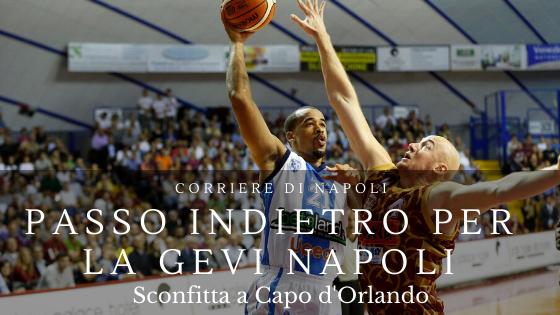 Sport, Basket: passo indietro per la GeVi Napoli