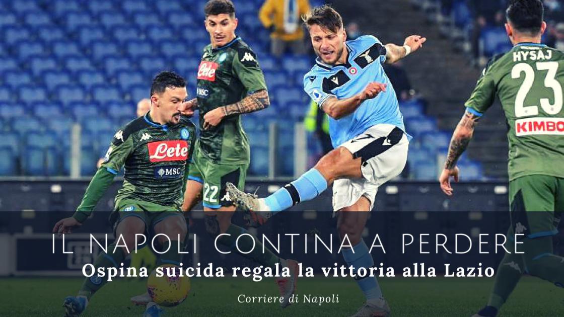 Sport, Calcio, Serie A: il Napoli continua a perdere!