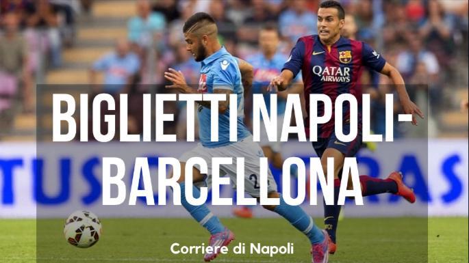 Calcio, Champions League: in vendita i biglietti per Napoli-Barcellona
