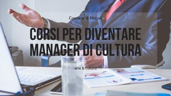 corsi per diventare manager
