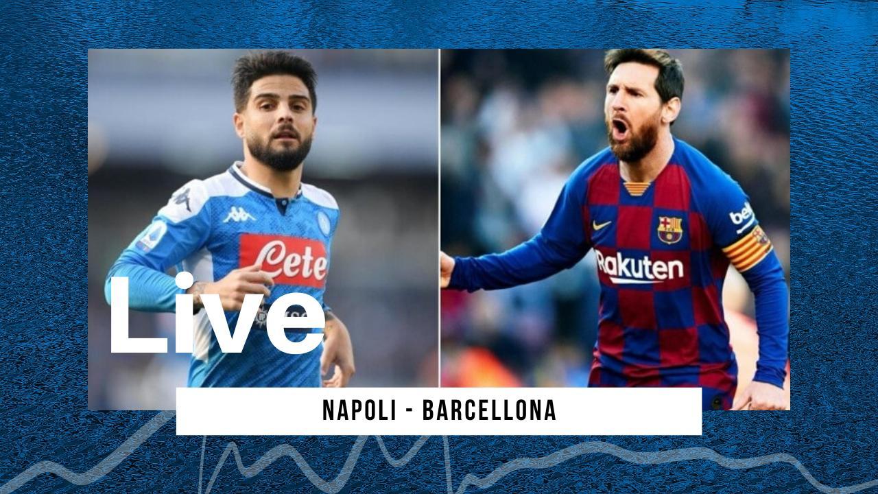 LIVE Champions League 2019/20, Napoli 1-1 Barcellona: Griezmann risponde a Mertens