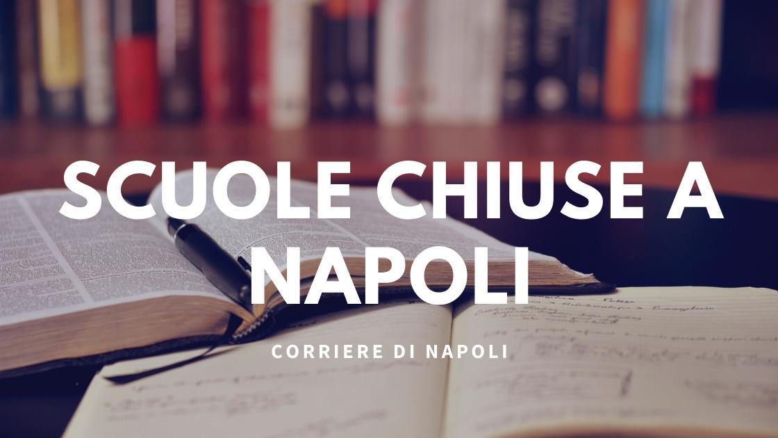 News: scuole chiuse a Napoli!