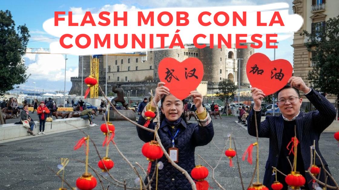 News: flash mob con la comunità cinese