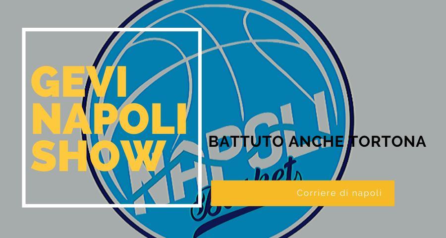 Sport, Basket: la Gevi Napoli cala il tris! Battuta Tortona