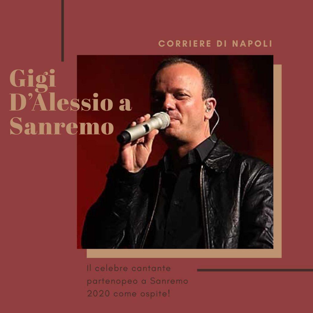 Sanremo 2020 omaggia Napoli