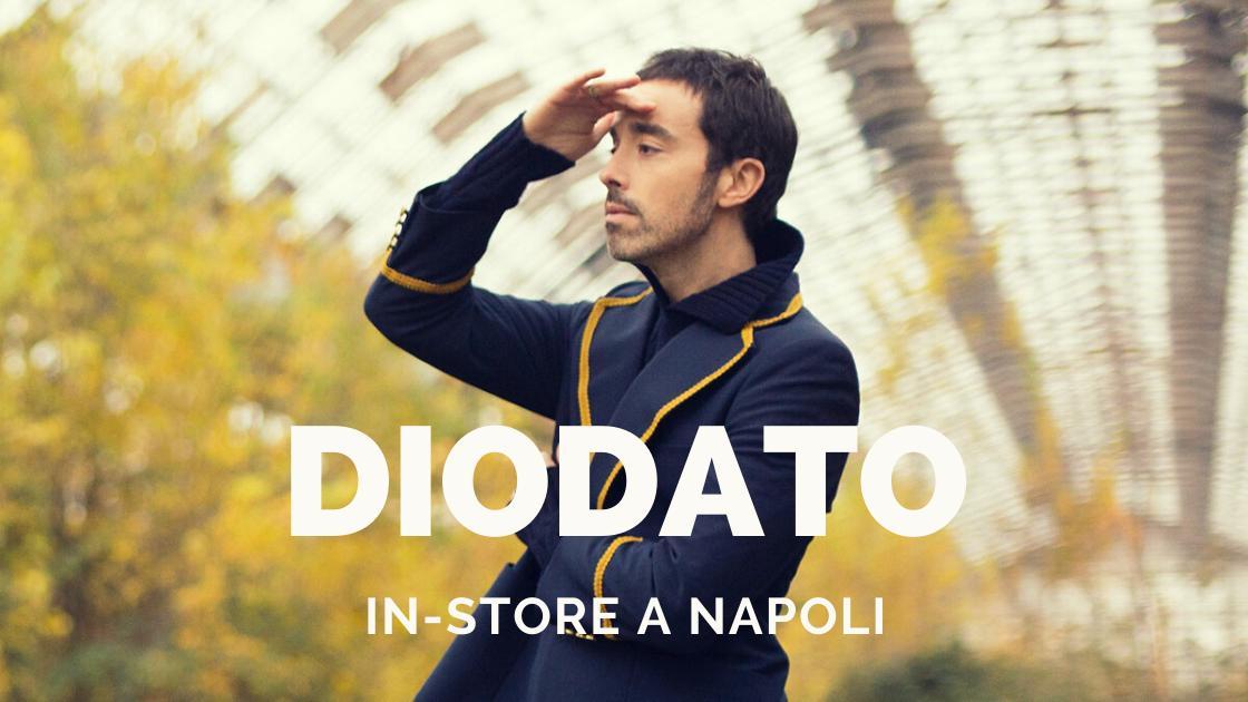 Musica: Diodato in-store a Napoli!