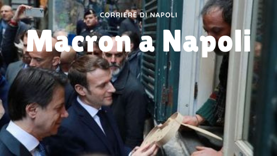 "News: Macron a Napoli, ""Città che amo"""