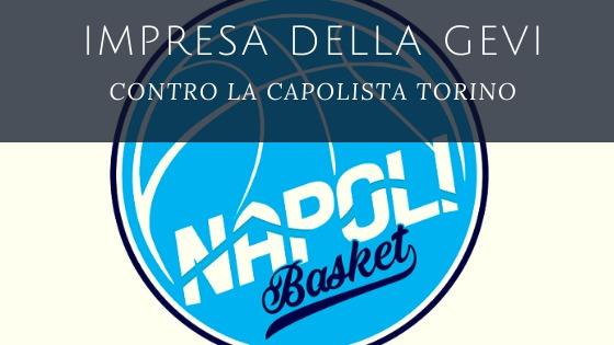Sport, Basket: la Gevi Napoli batte Torino!