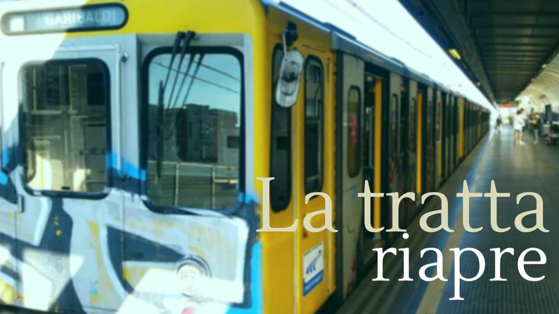News: la Linea 1 riprende su tutta la tratta!