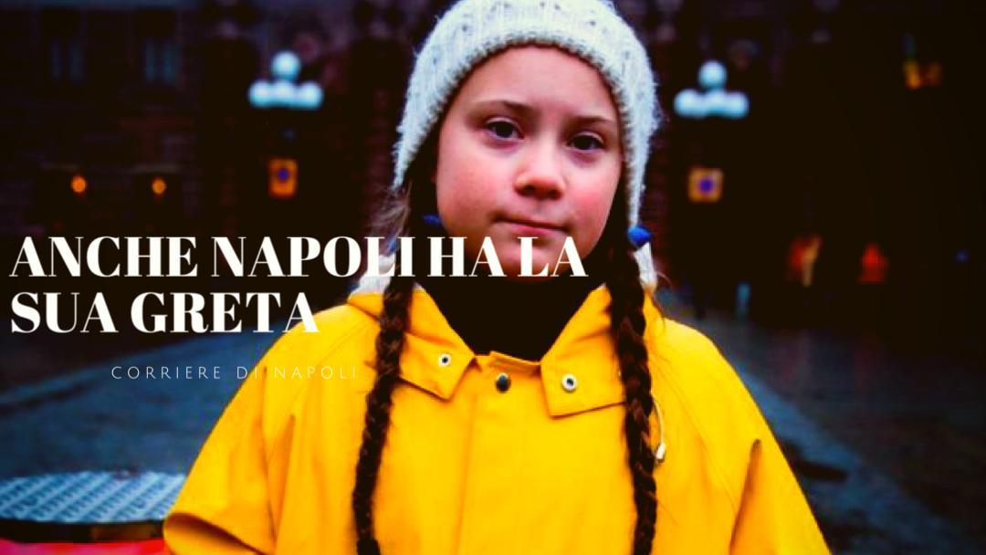 """#vivinapoli: anche Napoli ha la sua """"Greta"""""""