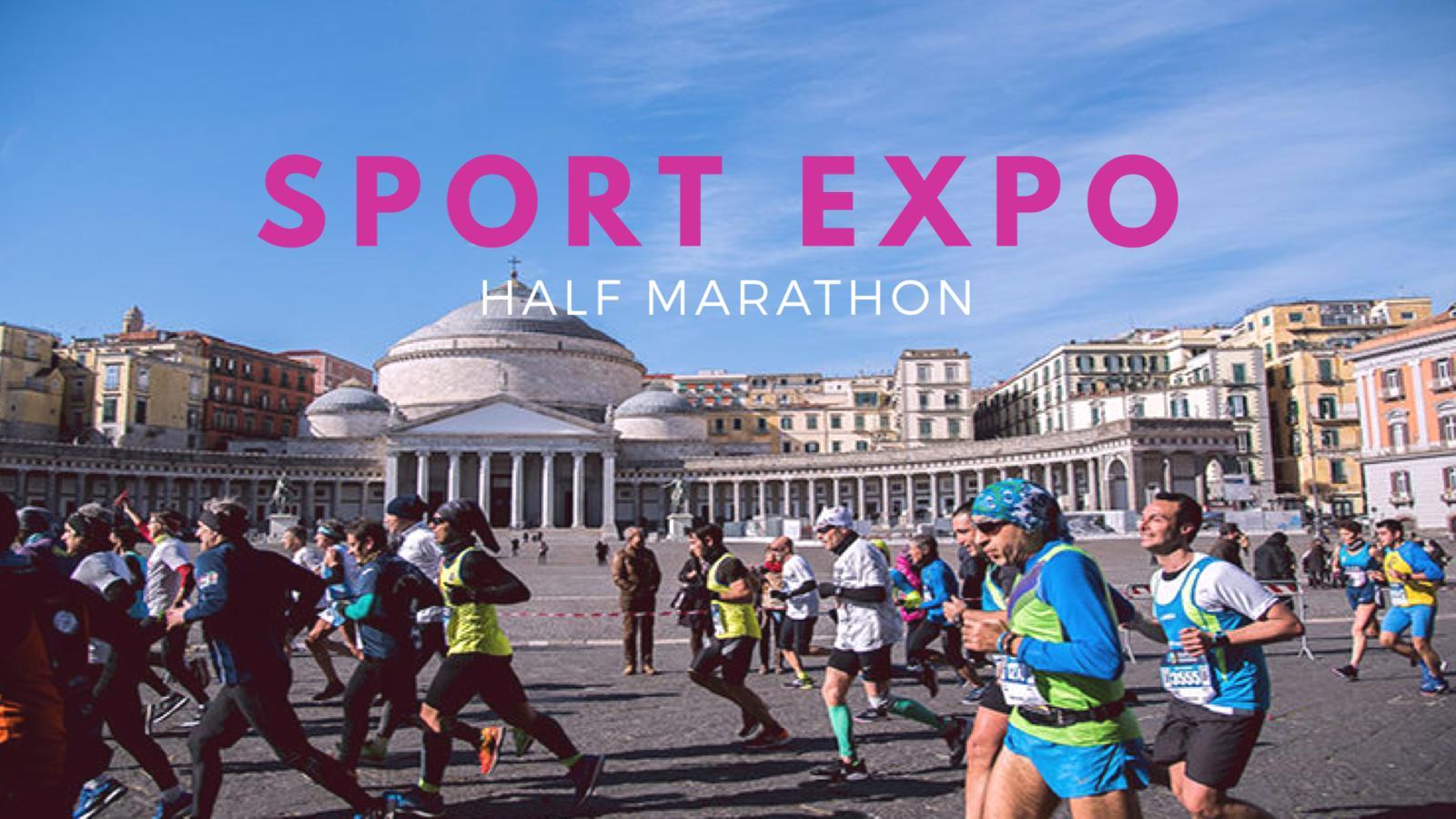 #vivinapoli, Half Marathon: venerdì l'apertura dello Sport Expo Turismo