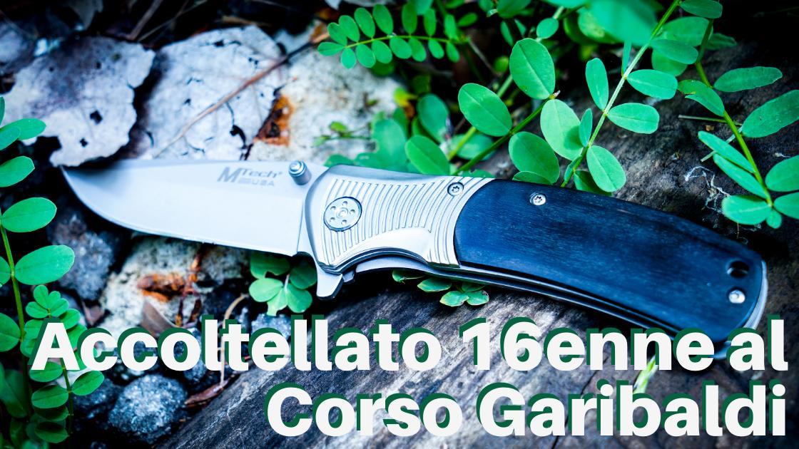 News, Napoli: accoltellato un 16enne a Corso Garibaldi