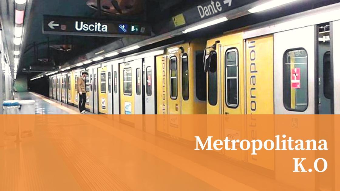 News, Napoli: Metropolitana subito KO