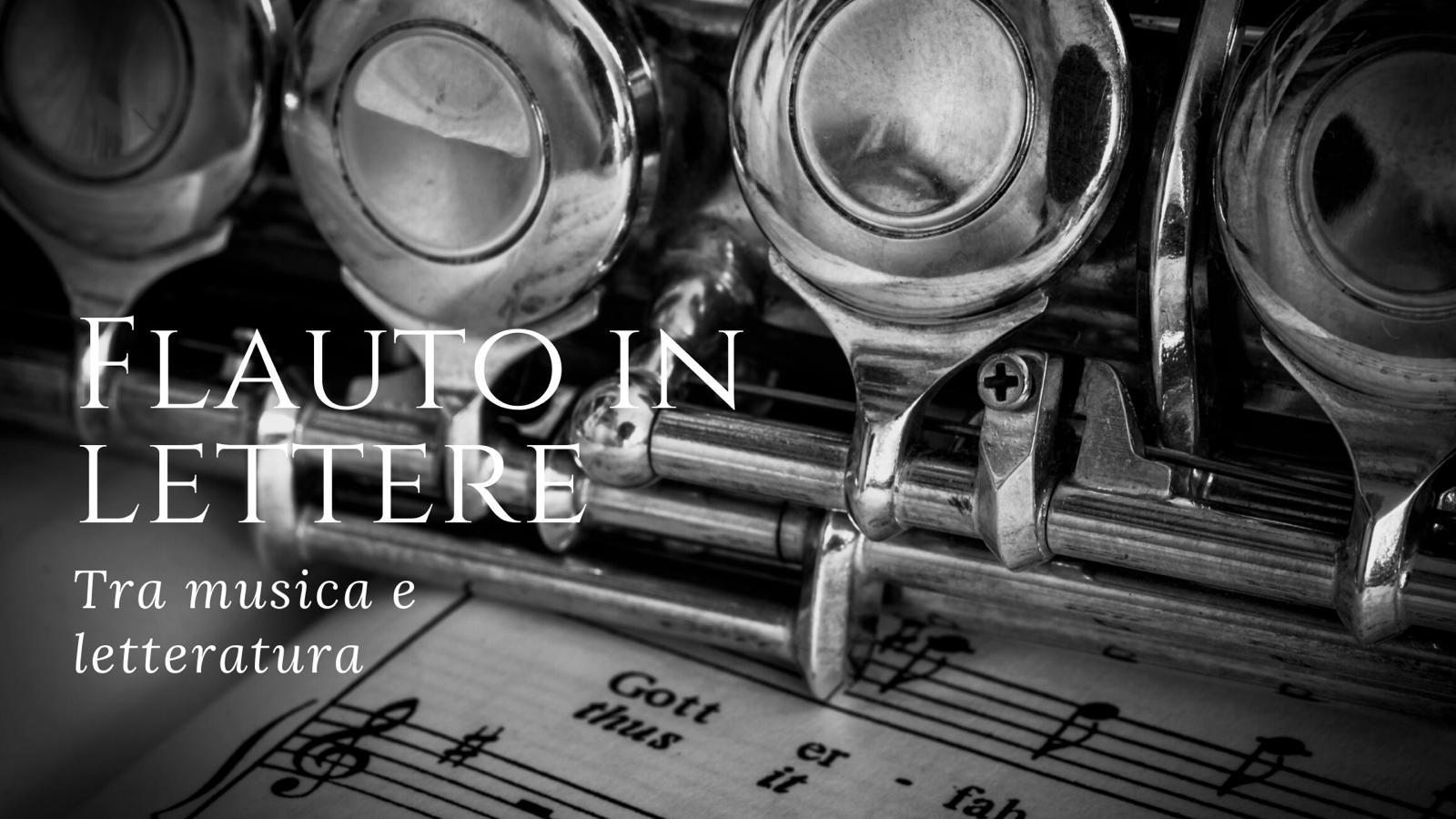 Musica, Napoli: flauto in lettere, tra musica e letteratura