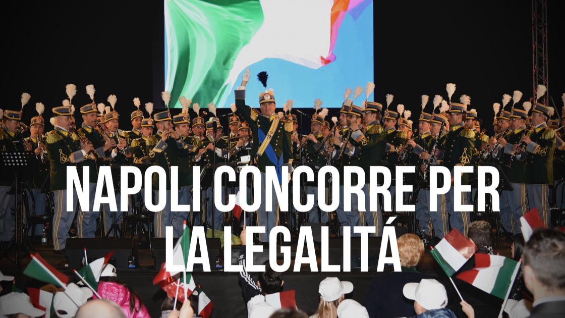 Sport, Napoli conCorre per la legalità