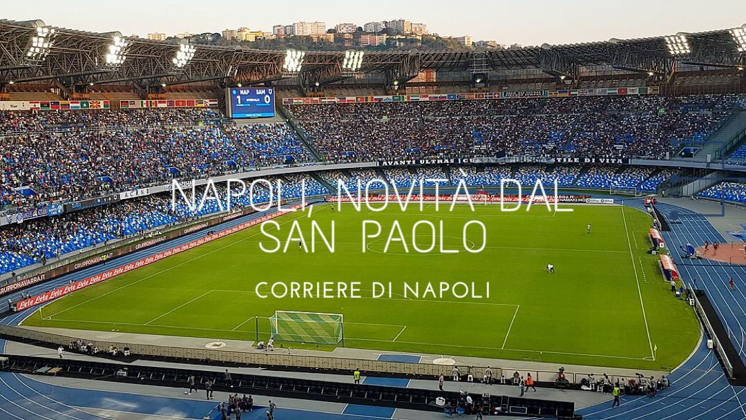 News, calcio: Napoli, novità San Paolo!