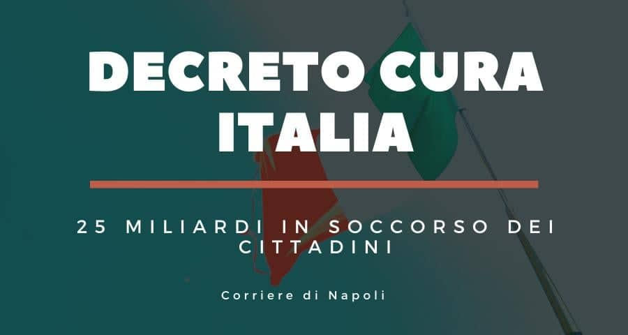"""Decreto """"Cura Italia"""", 25 miliardi per salute e lavoro"""