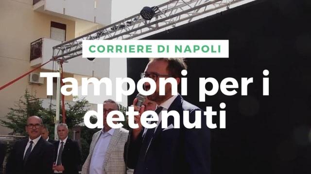 """Politica, Bonafede: """"Tamponi per i detenuti"""""""