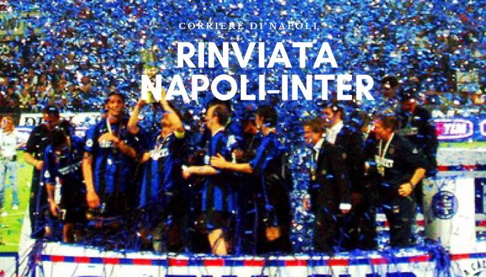 Sport, Coronavirus: rinviata Napoli-Inter!