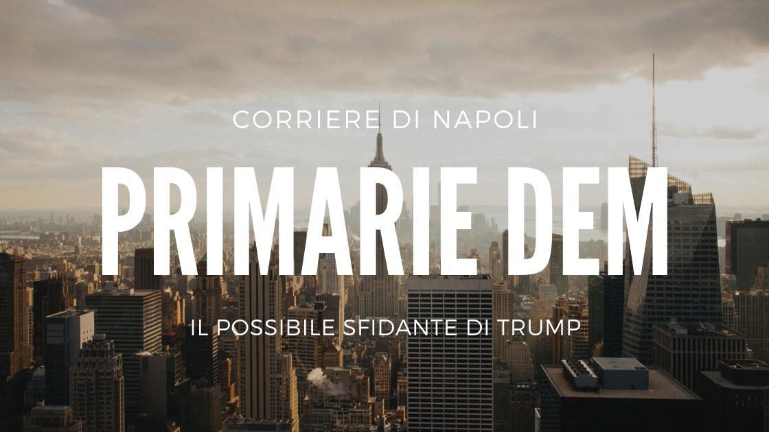 Politica: Primarie Dem, il possibile sfidante di Trump