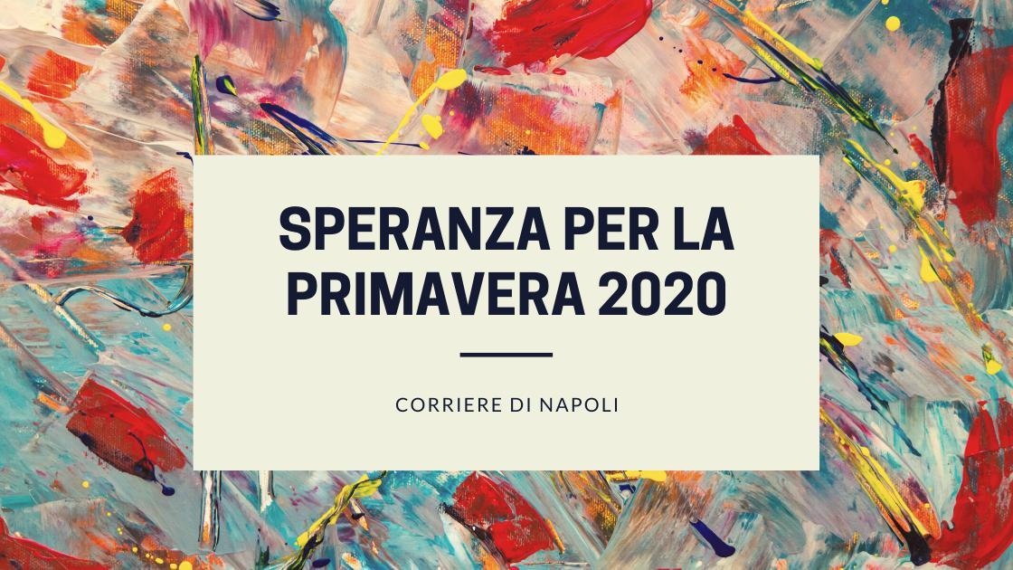 News: speranza per la primavera 2020!