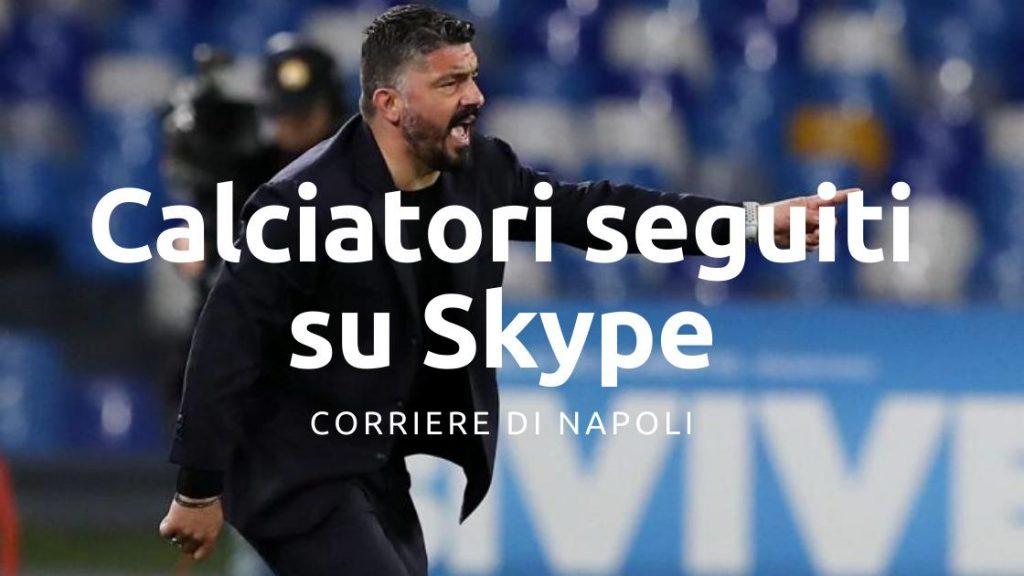 Gattuso attento anche in quarantena, calciatori seguiti su Skype