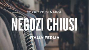 L'Italia chiude i negozi