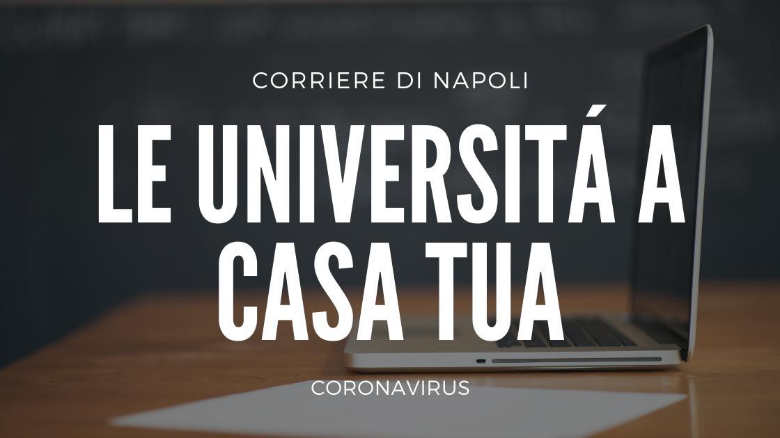 Coronavirus: le università a casa tua